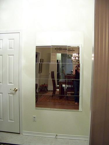 mirror no frame