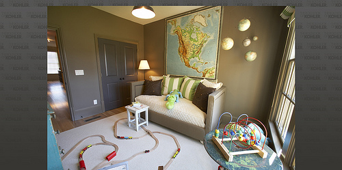 map - traditional home