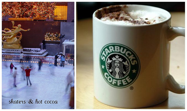 skaters and hot cocoa