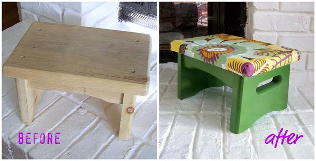 stool makeover
