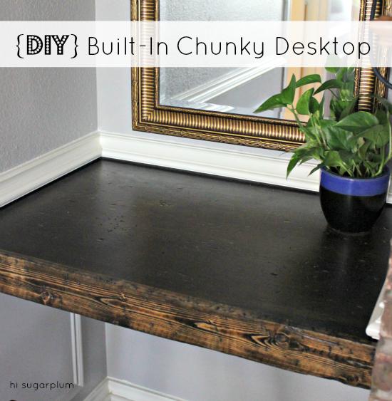 hi sugarplum chunky desk