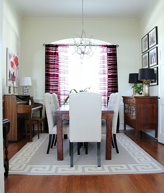 No Dining Room dining room} it's greek for me | hi sugarplum!