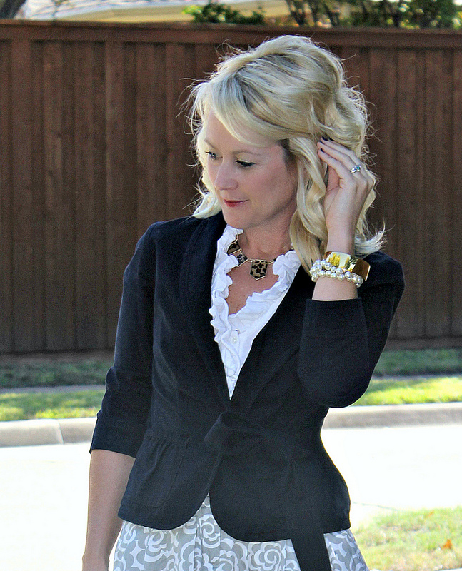 Navy & Gray outfit