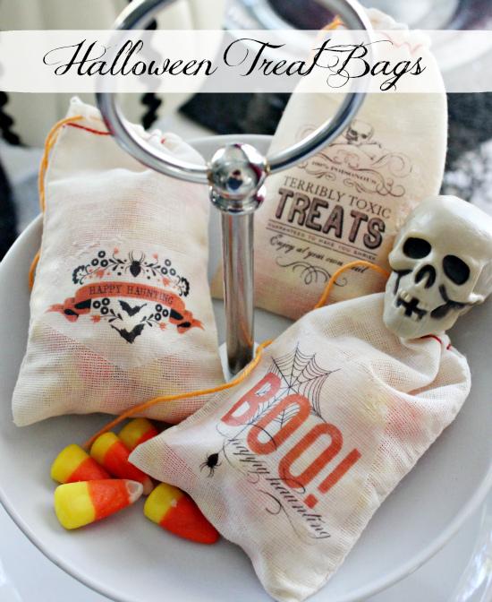 Easy Halloween Treat Bags