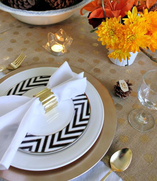 Natural & Glam Fall table