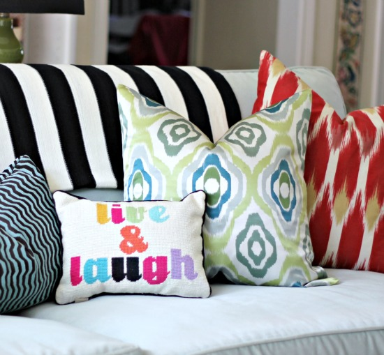 PB Teen Monogrammed Pillows