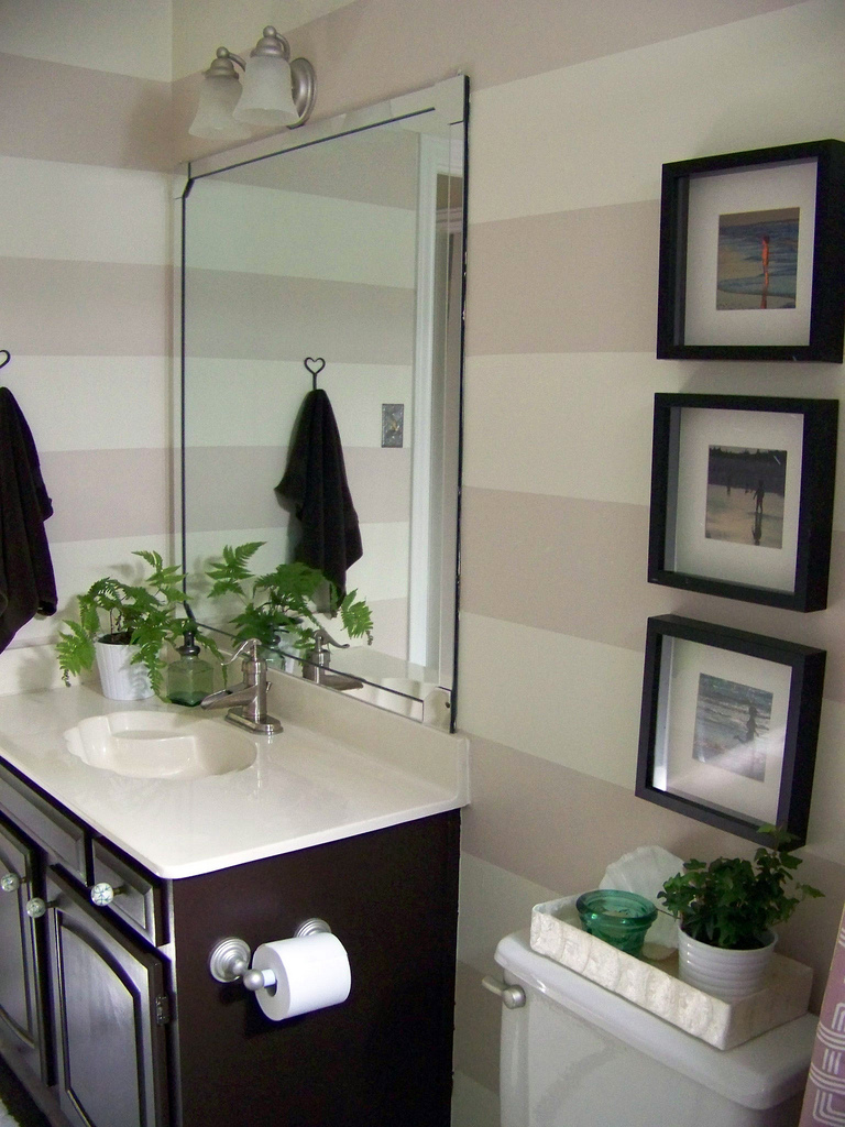 Bathroom cabinet organizers - Organized Bathroom Cabinet