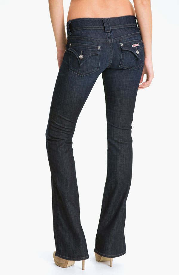 Hudson Jeans Signature Flap Pocket Bootcut Jeans (Savage)