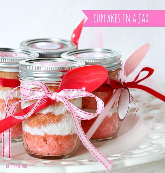 Valentine Cake In A Jar Hi Sugarplum