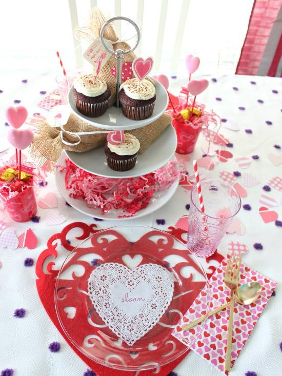 Hi Sugarplum   Valentine Table