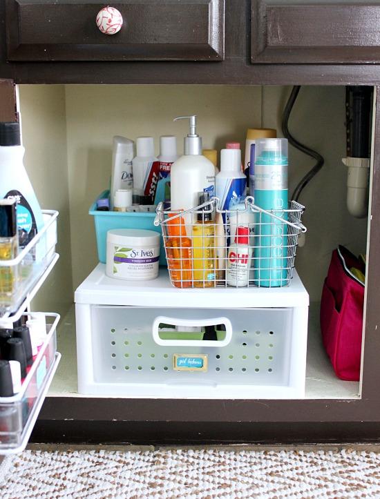 Organized Master Bathroom Cabinet Hi Sugarplum