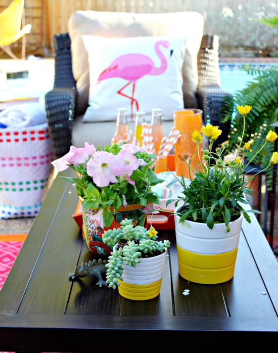Hi Sugarplum | Cheery Outdoor Patio