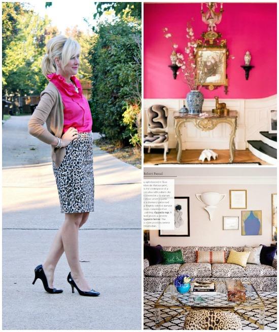 Hi Sugarplum | {Outfit Inspiration} Hot Pink & Leopard