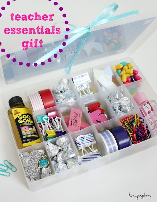 Easy Teacher Gift Essentials Kit Hi Sugarplum