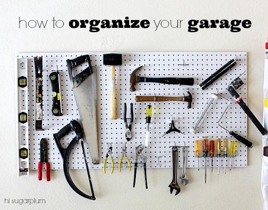Organized Garage The Paint Tools Hi Sugarplum