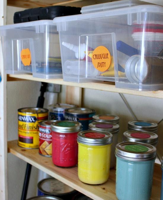 Hi Sugarplum | Organized Garage