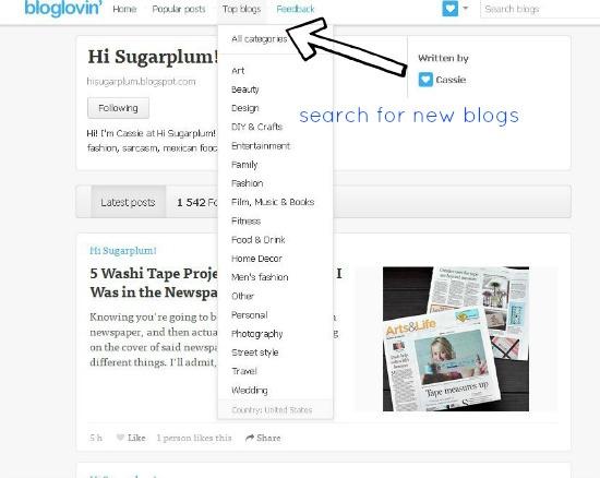 Hi Sugarplum | Migrating to Feedly and Bloglovin