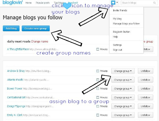 Hi Sugarplum | How to Migrate Google Reader to Feedly and Bloglovin