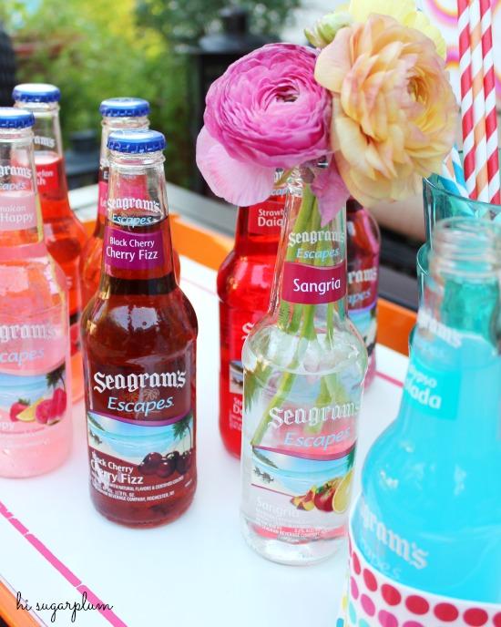 Hi Sugarplum | Seagrams Pool Party