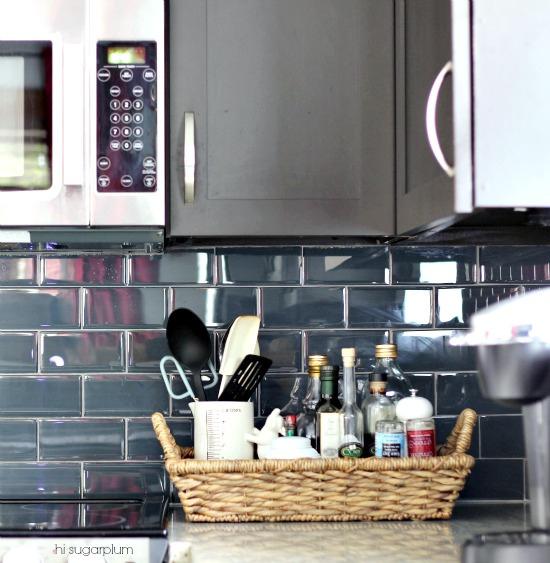 Hi Sugarplum   Organized Kitchen Counters