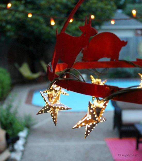 Hi Sugarplum   DIY Outdoor Light