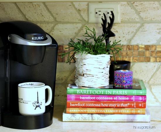 Hi Sugarplum | Organized Coffee Station