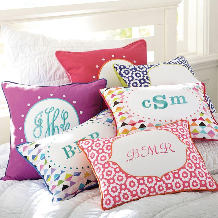 Abby Monogram Pillow Cover