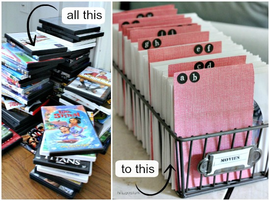 Hi Sugarplum   Organized DVDs & CDs