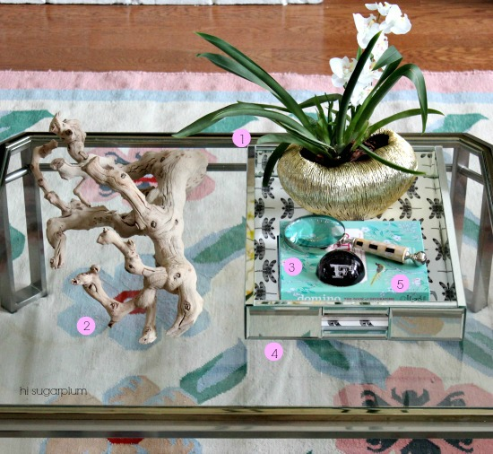 Hi Sugarplum | How to Style Coffee Tables