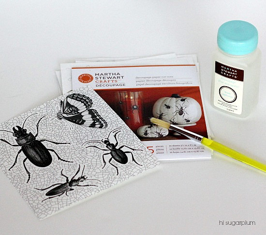 Hi Sugarplum   Halloween Bug Votives
