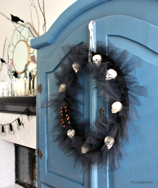 Hi Sugarplum | Halloween Tulle Wreath