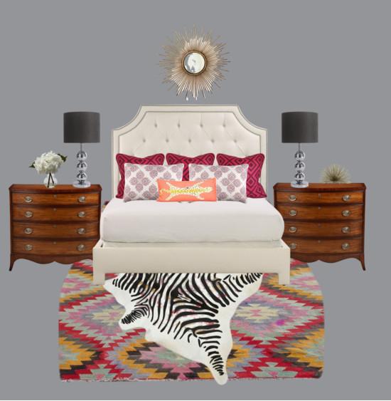 Glam & Cozy Bedroom