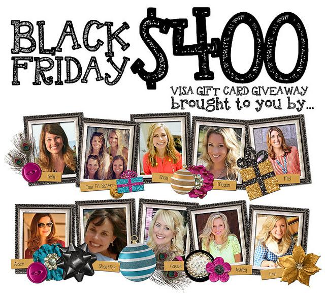Hi Sugarplum   Black Friday giveaway