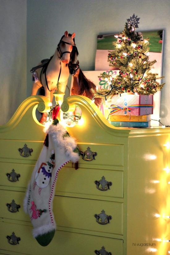 Christmas at our house hi sugarplum Hi sugarplum