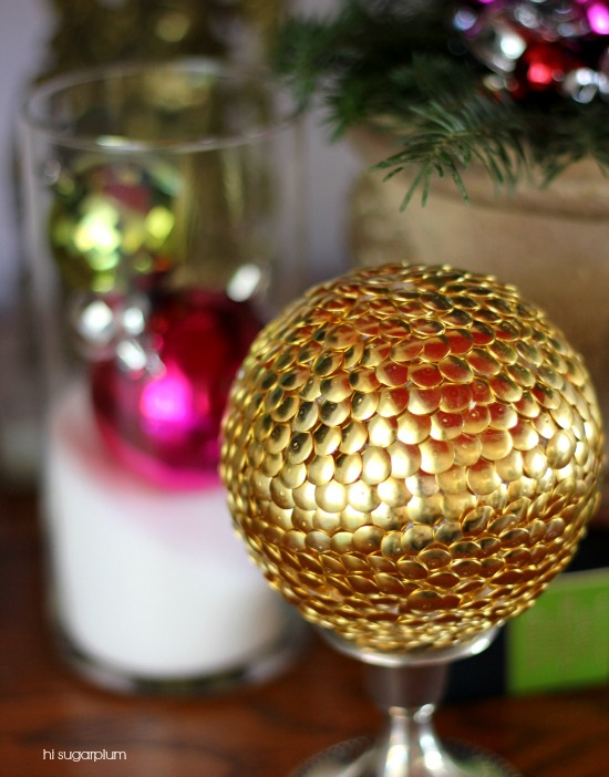 Hi Sugarplum   DIY Decorative Ball