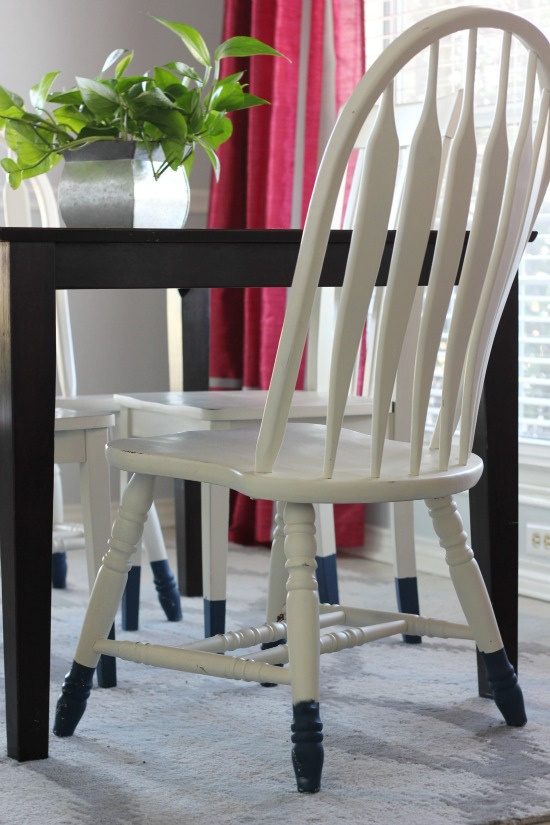 Hi Sugarplum | White Breakfast Room Chairs