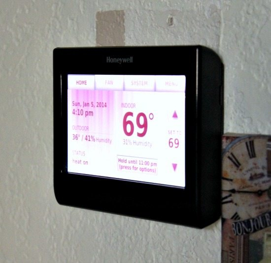Hi Sugarplum | Honeywell Wifi Thermostat
