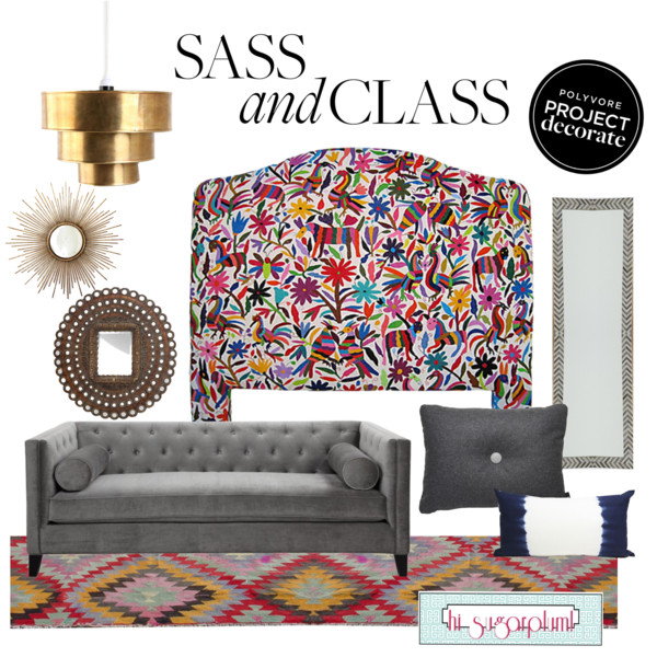 Polyvore Project Decorate: Sass and Class