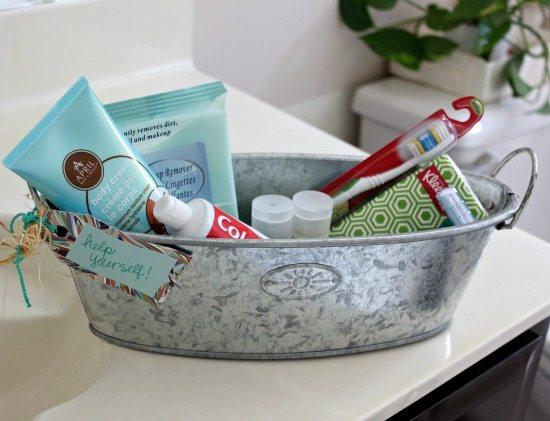 Hi Sugarplum | Organized Bathroom Cabinet