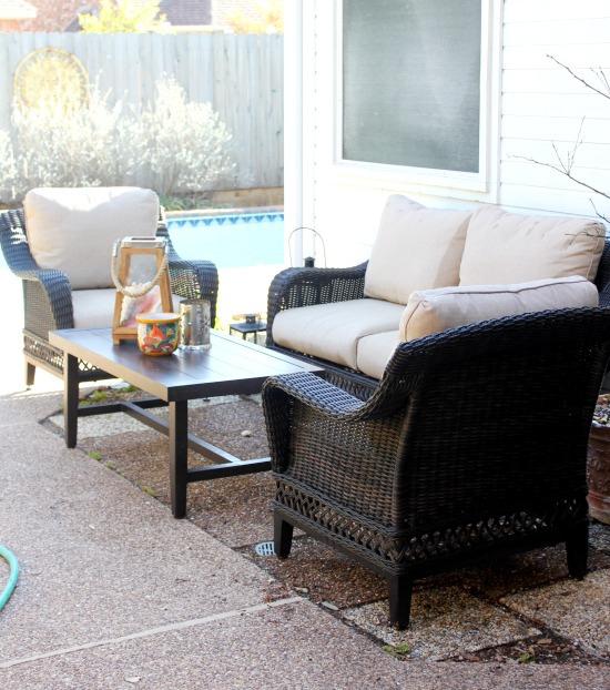 Hi Sugarplum | Spring Clean the Backyard