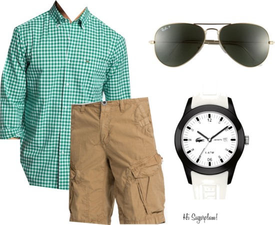 preppy summer guy