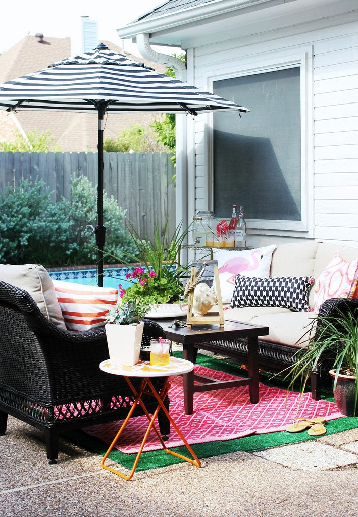 Hi Sugarplum | Patio Refresh