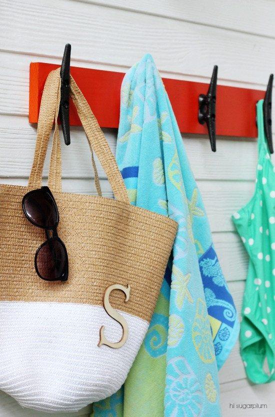 Hi Sugarplum | Nautical Towel Rack