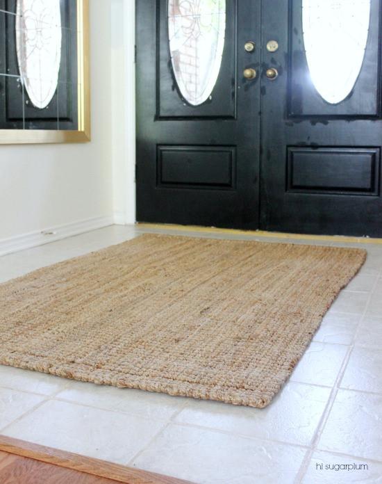 Hi Sugarplum | 5 Steps to Creating an Entrance Hall: The Rug