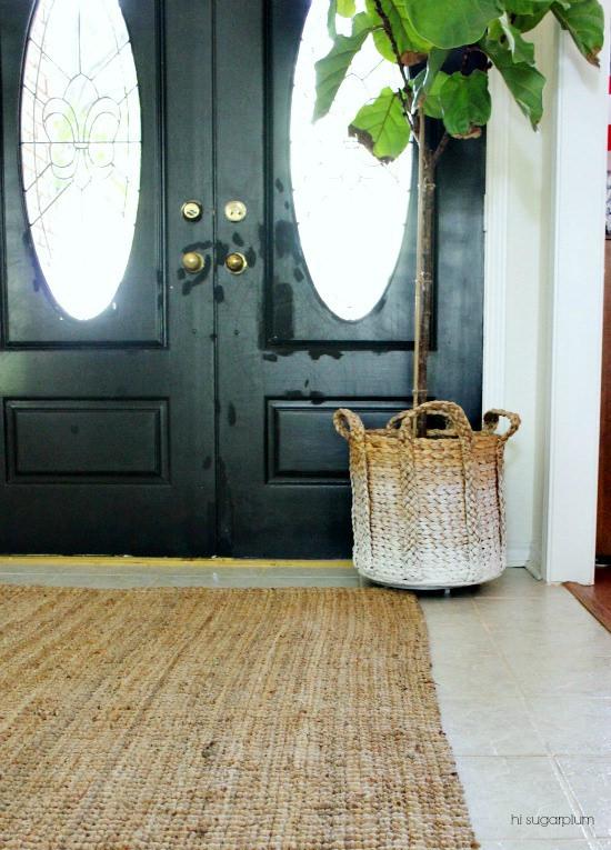 Hi Sugarplum | Entrance Hall Makeover: the Plant