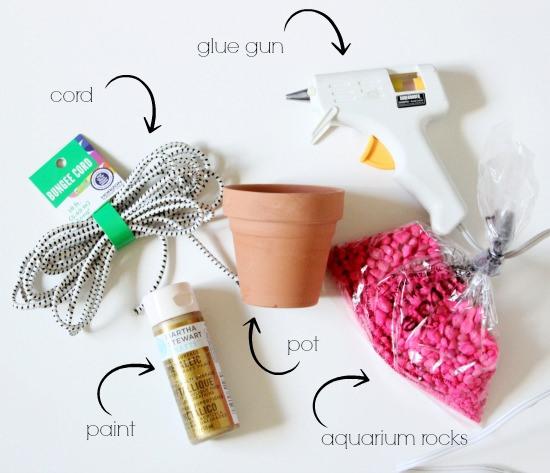 {Quickie Project} Mini Succulent Planter