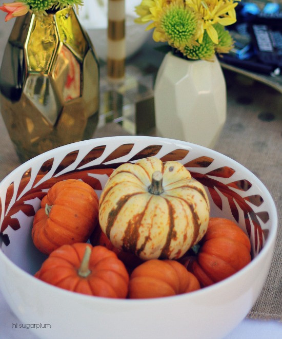 Hi Sugarplum | Fall Outdoor Entertaining