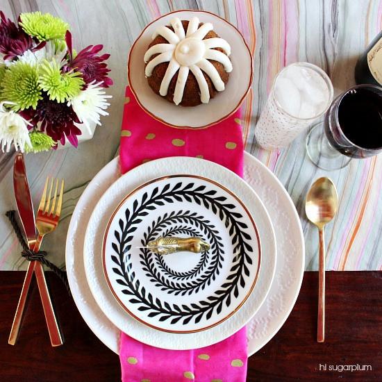 Hi Sugarplum | Fall Table