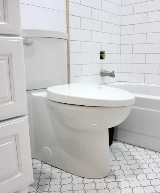 Big Box Bathroom Day 4 Hi Sugarplum