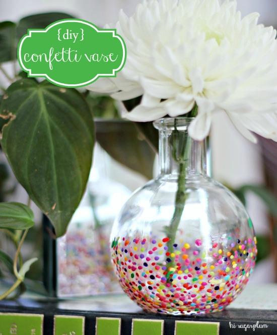 Anthropologie style Confetti Vases